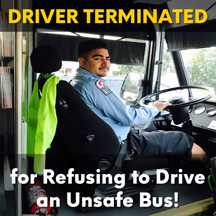 Driver Terminated