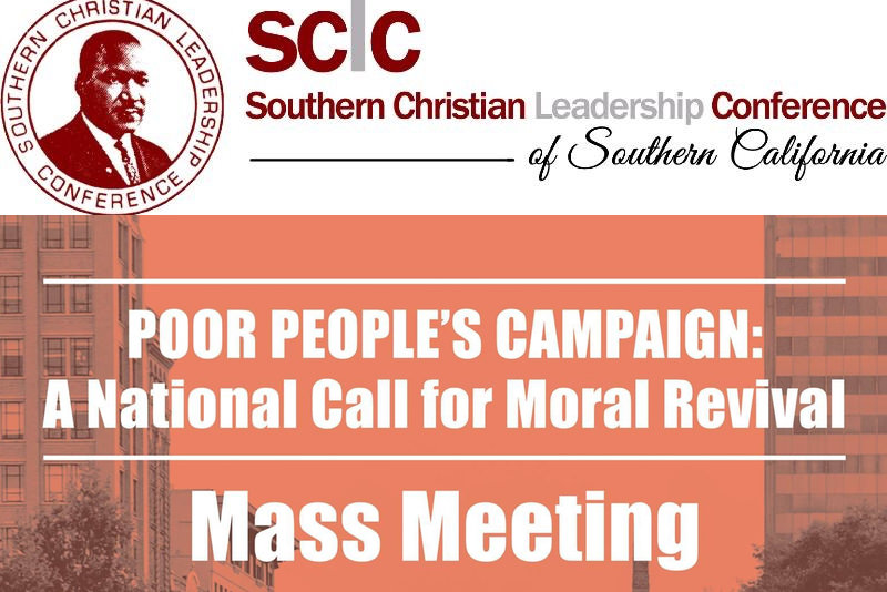 SCLC of Southern California's Poor People's Campaign