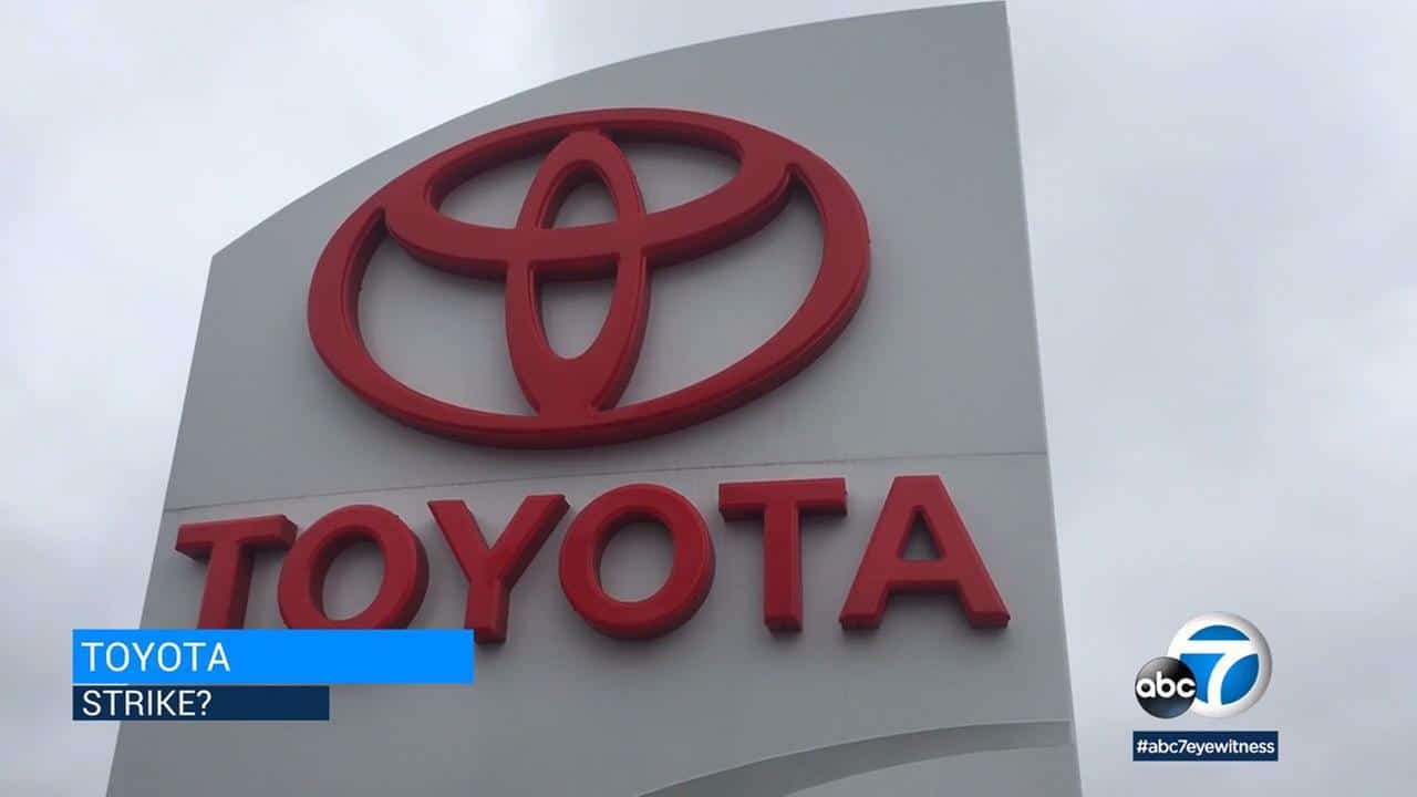 Abc 7 News Workers At Toyota Distribution Center In