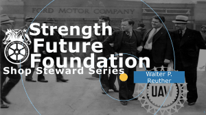 Strength, Future, Foundation