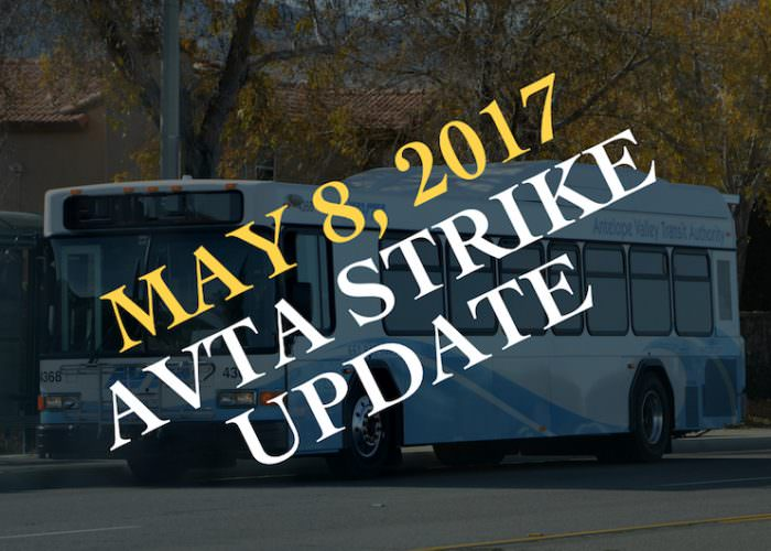 AVTA Strike Update
